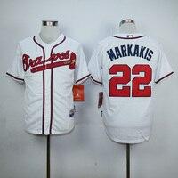 MLB Men S Atlanta Braves Bnick Markakis Jersey