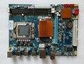 New motherboard original mainboard lga 1366 ddr3 ecc x58 sli 1366 placas para x5570 x5650 w5590 x5670 cpu l5520