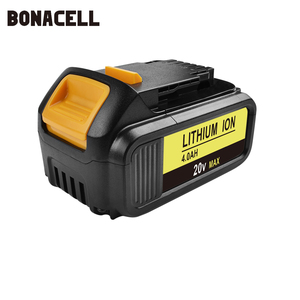 Image 3 - Bonacell MAX XR Battery for Dewalt 4000mAh Replacement Battery for DCB200 DCB181 DCB182 DCB204 2  DCB201 DCB201 2 L50