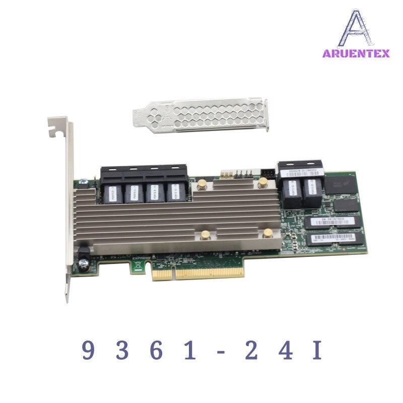ARUENTEX LSI MegaRAID SAS 9361-24i 05-50022-00 4GB Cache Memory SFF8643 PCI-E3.0 12Gb/s Controller Card alibaba express адаптер lenovo 7y37a01086 thinksystem raid 930 24i 4gb flash pcie 12gb
