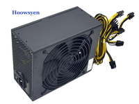 Mining Case Eth DASH Miners ZCASH Power Supply 1850W 12V 154A Computer Chassis Single Channel Service