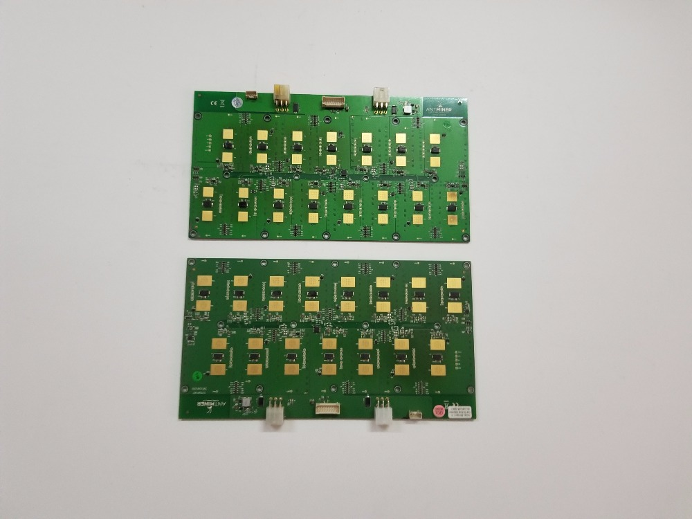 2pcs Used S5 Hash Board 0.57T/S One Part Of The S5 Use For Replace The Bad Part S5 Hash Board