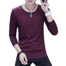 TangWindVisual BB-C1254 2018 new spring autumn men's long sleeve round neck