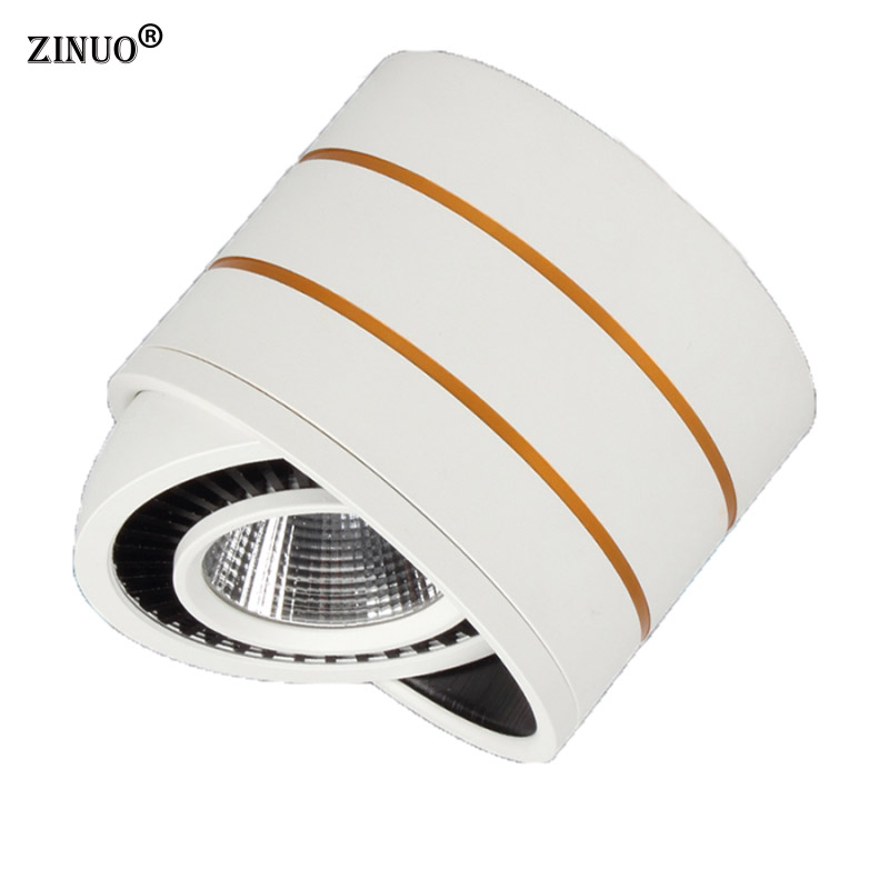 ZINUO 5W Round COB LED Ceiling Light Surface Mounted