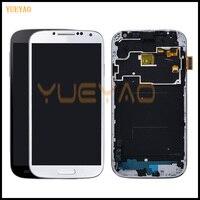 100% тестирование ЖК-дисплей Дисплей для samsung S4 I9505 ЖК-дисплей I9500 i9505 ЖК-дисплей для samsung S4 i9506 i337 ЖК-дисплей Экран с сенсорным экраном дигитайзе...