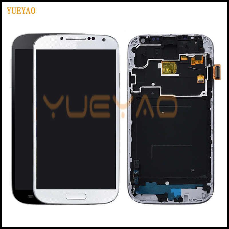 100% اختبار شاشة الكريستال السائل لسامسونج S4 I9505 LCD I9500 i9505 شاشات LCD لسامسونج S4 i9506 i337 LCD شاشة مجموعة رقمنة اللمس