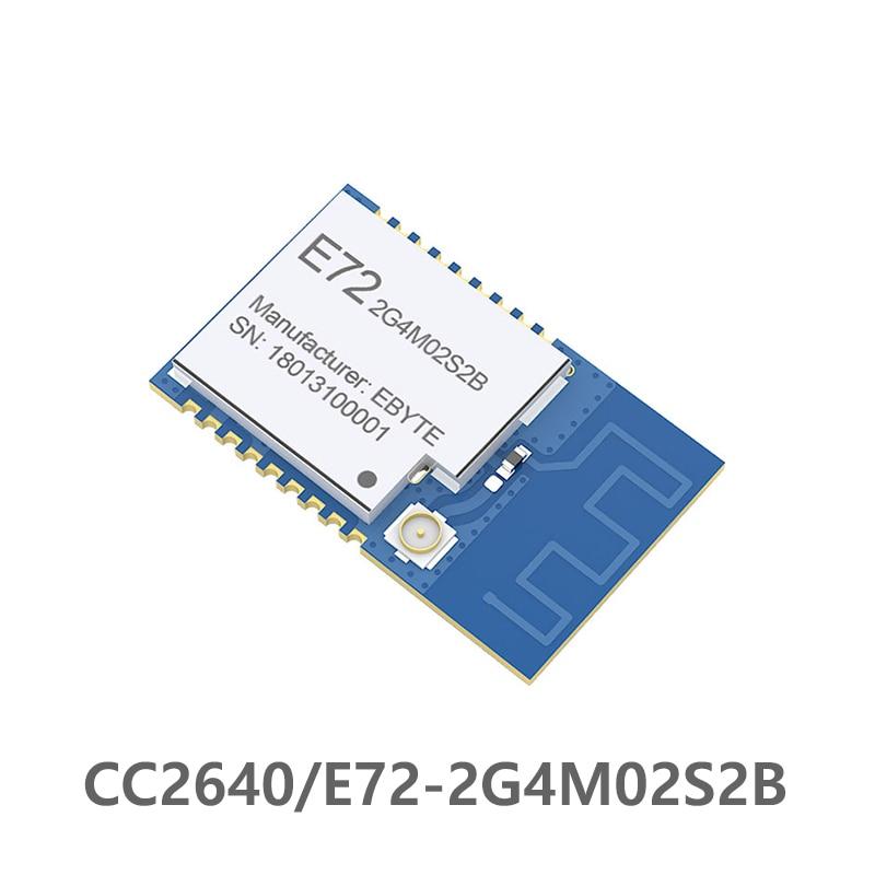 E72-2G4M02S2B CC2640 2.4 Ghz 2 DBm Cdebyte Rf Module Bluetooth Module Wireless  Module IO Port Low Power 2.4GHz Receiver SMD