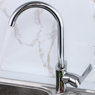 Free shipping original 360 Rotating Kitchen sink faucet from Senducs sanitary ware hot cold brass kitchen
