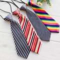 New Fashion Kid Crianças Do Laço Do Pescoço Partido Do Bebê Do Menino Listrado Elastic Gravata do laço Vestuário AccessoriesHOT VENDA