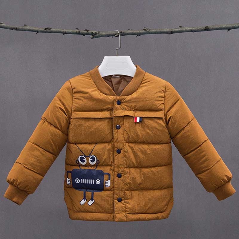 6c6ba177b Boys warm coats winter children casual thick down parkas for baby ...