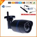 FTP Обнаружения Движения P2P ONVIF Мегапиксельная 720 P HD 802.11b/g Беспроводной Проводные Ip-камеры WifI ИК Открытый Водонепроницаемый Ip-камера H.264