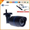 Megapixel ONVIF 720 P HD de Detecção de Movimento P2P FTP 802.11b/g Câmera IP Sem Fio WifI IR Ao Ar Livre Sem Fio À Prova D' Água câmera IP H.264