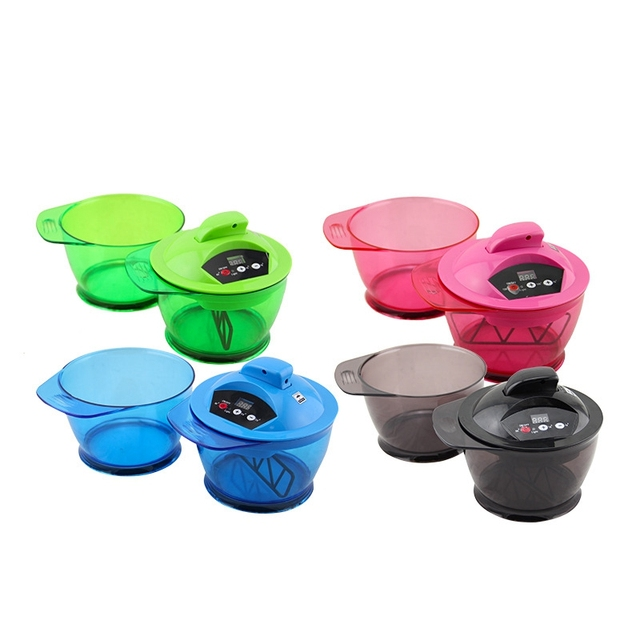 Hair Coloring Automatic Mixer Mixing Bowl Colors Professional Salon Necessary Equipment Color Paste Mixer