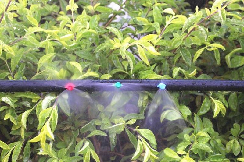 HTB1i3nac3mTBuNjy1Xbq6yMrVXa9 MUCIAKIE 20PCS/pack 90 180 360 Degree Refraction Nozzle Garden Irrigation for Plant Spray Nozzle Mist Sprayer Irrigation Fitting