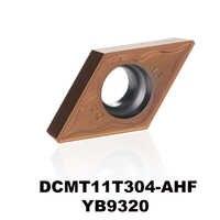 DCMT11T304-AHF YB9320 ステンレス鋼 p 型材料超硬旋削インサートの cnc プレート DCMT11T304 DCMT 11T304 DCMT3 (2.5) 1
