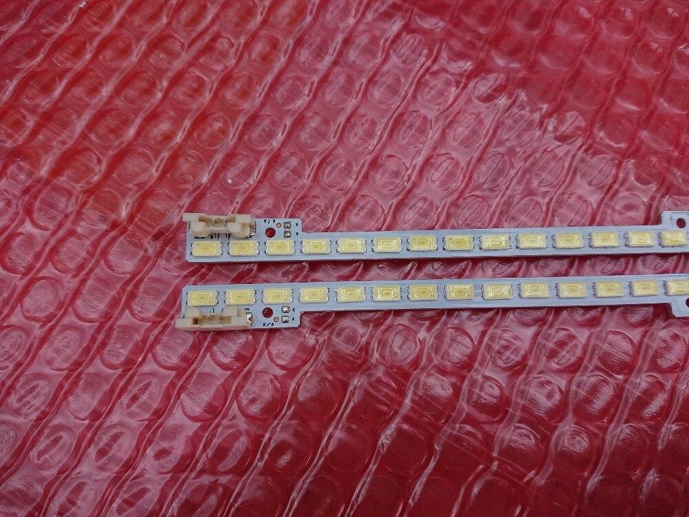 (New kit) 2 PCS*72LEDs 510mm LED backlight strip 2011SVS46-5K6K-LEFT RIGHT H1B 1CH for UA46D6000SJ BN64-01644A LTJ460HW03-H