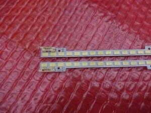 Image 1 - (Nowy zestaw) 2 sztuk * 72 diody led 510mm listwa oświetleniowa led 2011SVS46 5K6K LEFT prawo H1B 1CH dla UA46D6000SJ BN64 01644A LTJ460HW03 H