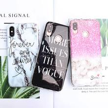 Painted Marble Phone case For Huawei P Smart 2019 Mate 20 10 P30 Pro P20 Lite honor 8A 8C 8X 7C 7A Pro Silicone Soft back Cover free shipping new for asus n550 n550jv n550jk laptop keyboard uk keyboard version silver
