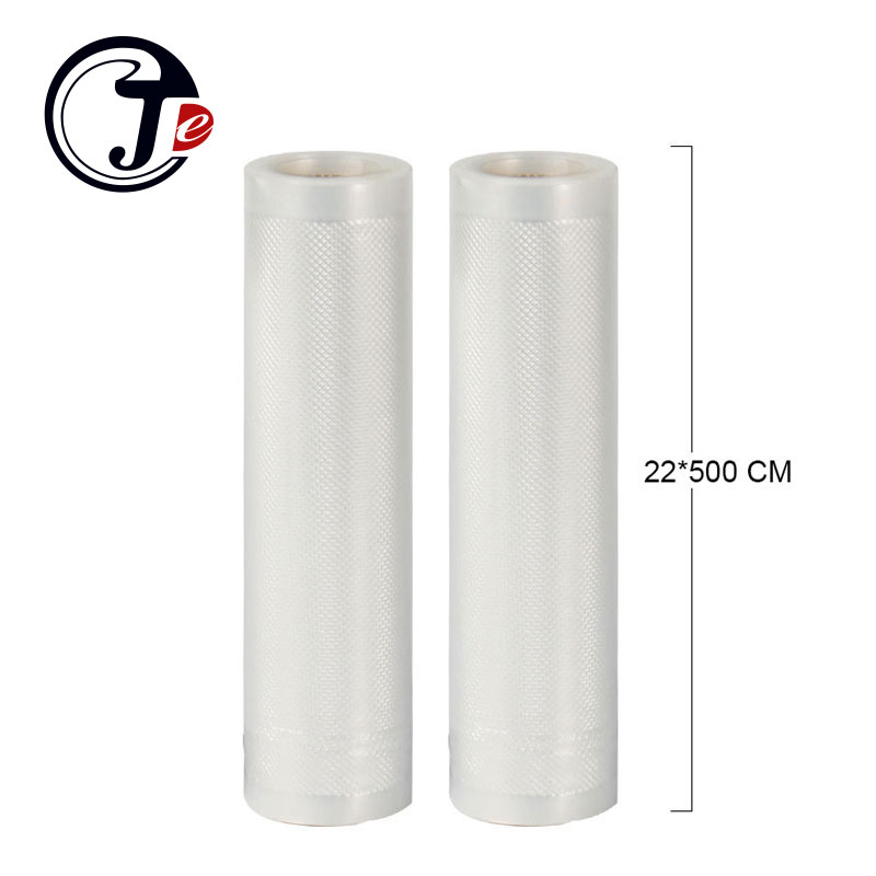 2 Rolls/lot 22*500CM Food Bags for Sealing Machine 22X500CM Grain Storage Bag for Vacuum Sealer Packing Machine Sous Vide lagute vacuum sealer saver bags rolls fresh keeping for kitchen food storage all sizes 8 x 16 11 x 16 8 x 50 11 x 50