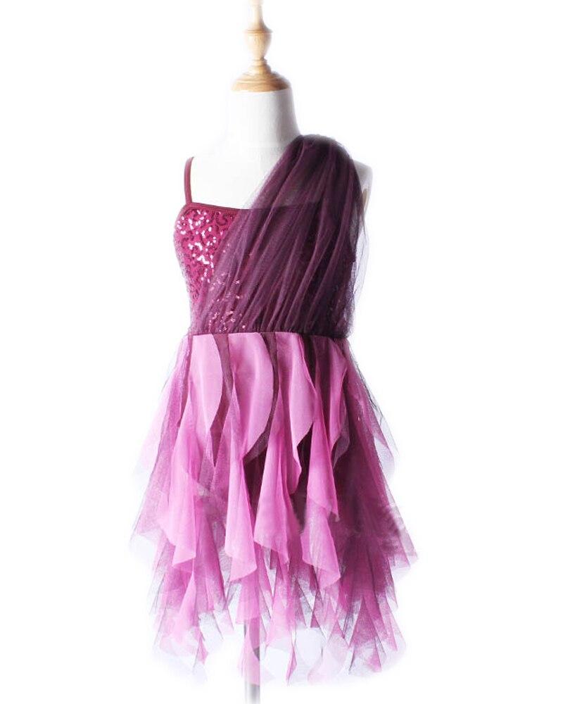 Professional Tutu Ballet Dress For Children Girls Women Danse Classique Adulte Costumes Purple Dancewear Kids Infantil Polyes