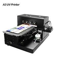 2019 A3 струйный принтер для УФ печати светодиодный печатная УФ машина для Чехлы для телефона на заказ дерево металл, акрил Стекло признаки ПВХ