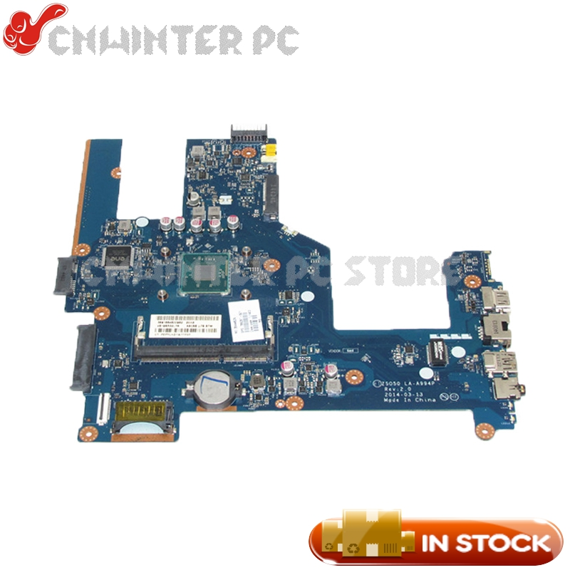все цены на NOKOTION 788287-501 788287-001 Motherboard For Hp 15 15-R 15T-R 15-S MAIN BOARD ZSO50 LA-A994P DDR3 with processor onboard онлайн