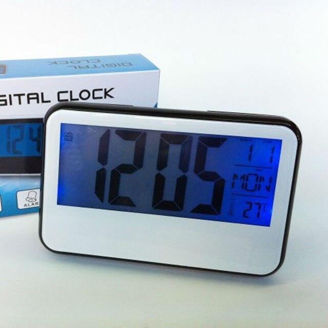 Neue Großen Bildschirm Wecker Kalender Thermometer Akustische ...