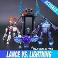 2017 lepin 14026 nexus knights building blocks set lanza vs aligeramiento niños juguetes de los ladrillos de regalo compatible con 70359