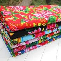 Stampa floreale In Cotone Rayon Tessuti per Abbigliamento, Cassa del cuscino, portafoglio, tenda, Prodotto da letto, tovaglia, per Metro 62 ''Ampia