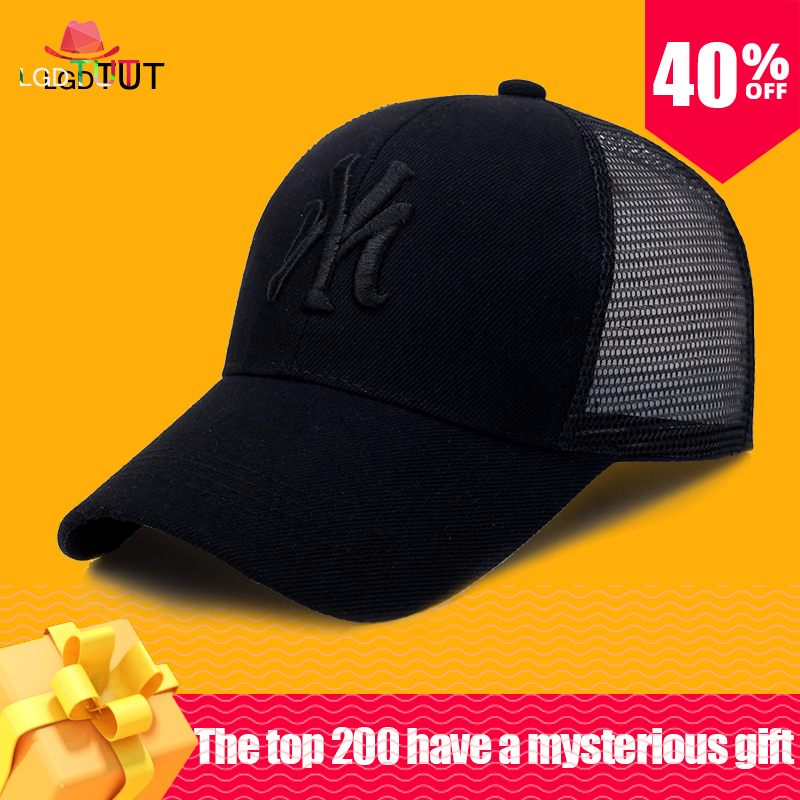 Letter Summer Mesh   Cap   Men Gorras Para Hombre   Baseball     Cap   Daddy Hats Women Snapback Fashion   Cap   Sun Hat face   caps
