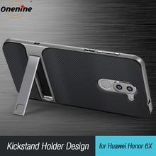 כיסוי אחורי עבור Huawei Honor 6X סיליקון מקרה TPU מחשב 360 3D Stand מקרי טלפון Funda Honor6X GR5 2017 Mate 9 לייט Mate9 Mate9Lite