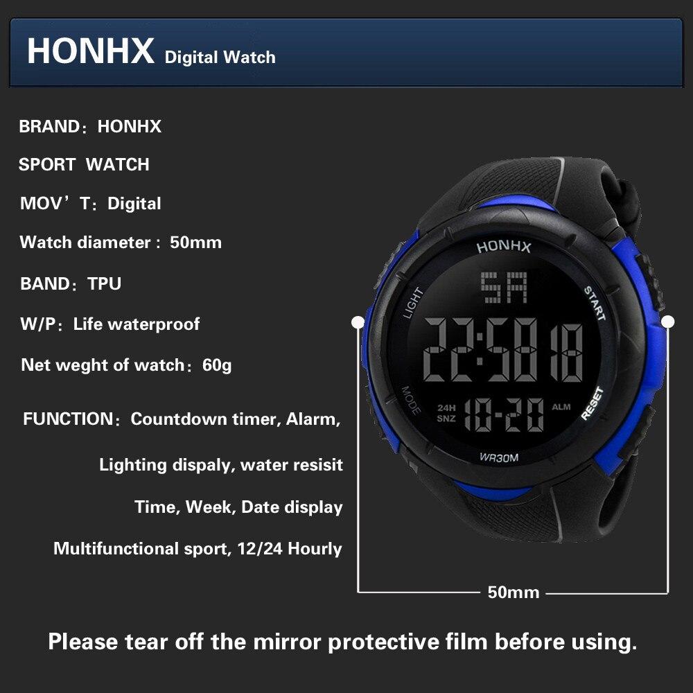 HTB1i3puXLfsK1RjSszbq6AqBXXaa NEW Relogio masculino Luxury Men Analog Digital watches Military Sport LED Waterproof Wrist Watch super quality clock gift @7