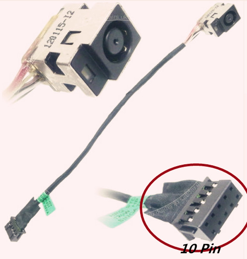 New Laptop DC Power Jack Charging Cable For HP Pavilion DV7 series DV7-7000 DV7T-7000 genuine new free shipping original laptop hard drive interface for hp pavilion dv7 4000 series dv7 5000 series sata hdd cable