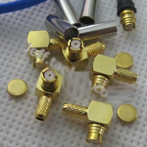 SMP-KW-1.5 rf coaxial connector SMP female head elbow (suitable for RG316/174) 50-1.5 line 95 725 108 360 rf cable assemblies smp str plg smp str plg mr li