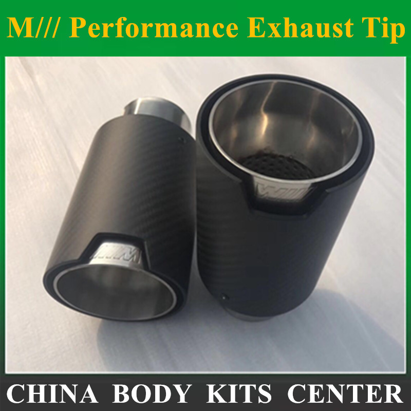 NEW M Performance carbon Exhaust Tip for BMW Series M3 M4 M5 2012- car-styling Akrapovic car exhaust muffler nozzle tip new m performance carbon exhaust tip for bmw series m3 m4 m5 2012 car styling akrapovic car exhaust muffler nozzle tip