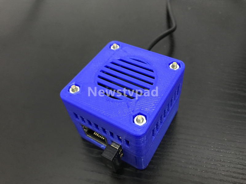 blue Nano Hotspot MMDVM NanoPi NEO UHF 433MHz 3D Shell HAM DIY Kit Support  DMR D-STAR for DMR D-STAR Nano pi,PC,Android