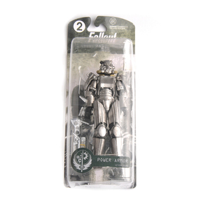 "Image 5 - Two Colors Fallout 4 PVC Action Figure 8"" Power Armor Out of Clothing Toys Gifts Collections Displays Brinquedos for Fans Kid"