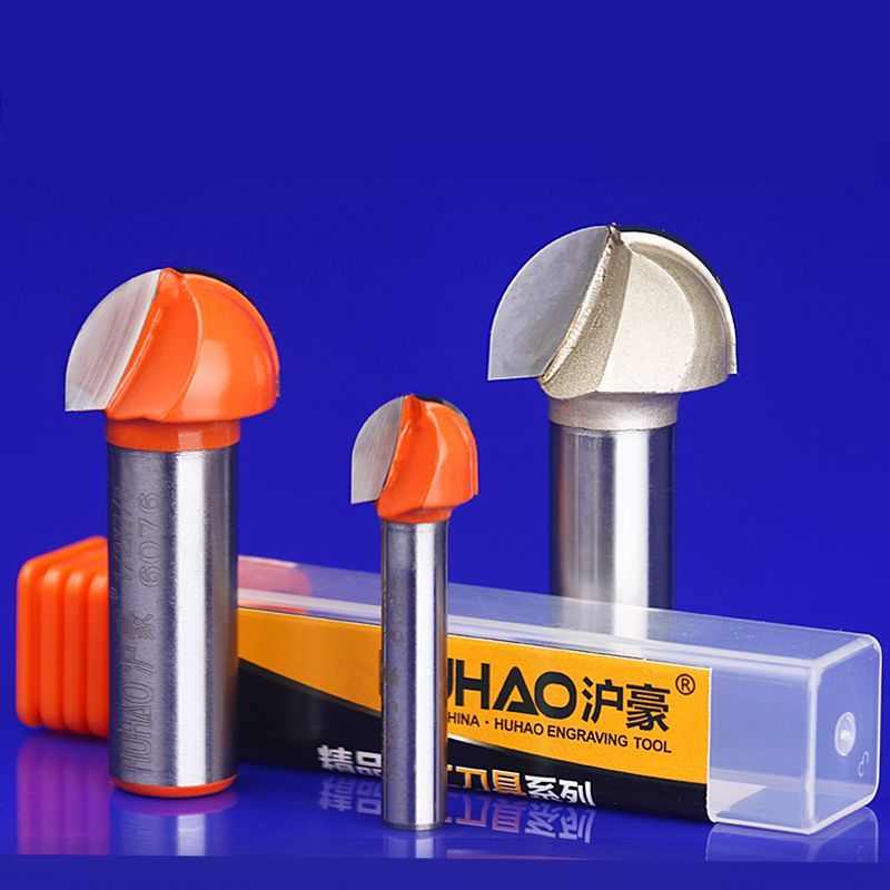1/4(6.35mm)HSS Milling Bits Shank Round Nose Cove Core Box Router Bit Shaker Cutter Tools For Woodworking 1 2 inch hss milling bits shank round nose cove core box router bit shaker cutter tools for woodworking