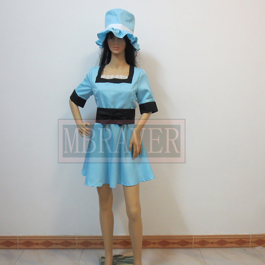 Steins Gate Mayuri Shiina cosplay costume Custom made Halloween customized any size