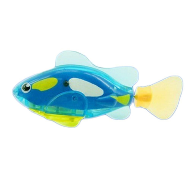 Robotic Fish Activated Battery Powered Swimming Boy Bath Pet Toys Aquarium Decor