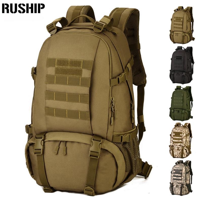 Imperméable à l'eau tactique 3D armée sac à dos militaire multifonction haute capacité randonnée Camouflage voyage sac à dos Mochila Molle système