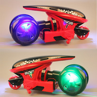 1:12 RC Car Stunt Motorcycle 2.4G Racing Off-road Climbing Car Fast speed drift Deformation Space vehicles light Concept car