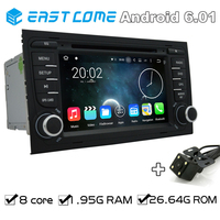 8 Core Pure Android 6.0 Car DVD For AUDI A4 2002 2003 2004 2005 2006 2007 Audi S4 RS4 8E 8F B9 B7 RNS E With Radio Backup Camera