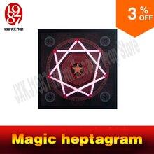 חדר בריחה אבזר אמיתי חיים הרפתקאות משחק קסם heptagram מגע את הגיוני נקודות ב הרצף הנכון כדי לפתוח מפני JXKJ1987