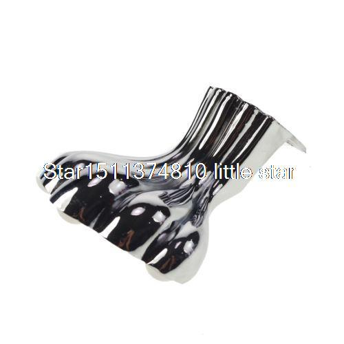 105mm Set Metal Furniture Cabinet Legs Tea Table Bed Chair Sofa Leg Feet 4pcs 4x metal furniture adjustable cabinet sofa chair tea table bed leg feet 5 91