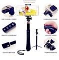 Многофункциональный С Акцентом Selfie Stick RK88 13in1 Беспроводное Управление Bluetooth со СВЕТОДИОДНОЙ Открытый Selbstklebend