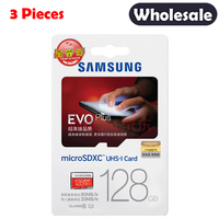 SAMSUNG Memory Card 128GB 80M S EVO MicroSD Storage Card EVO Plus Class10 Original TF Card