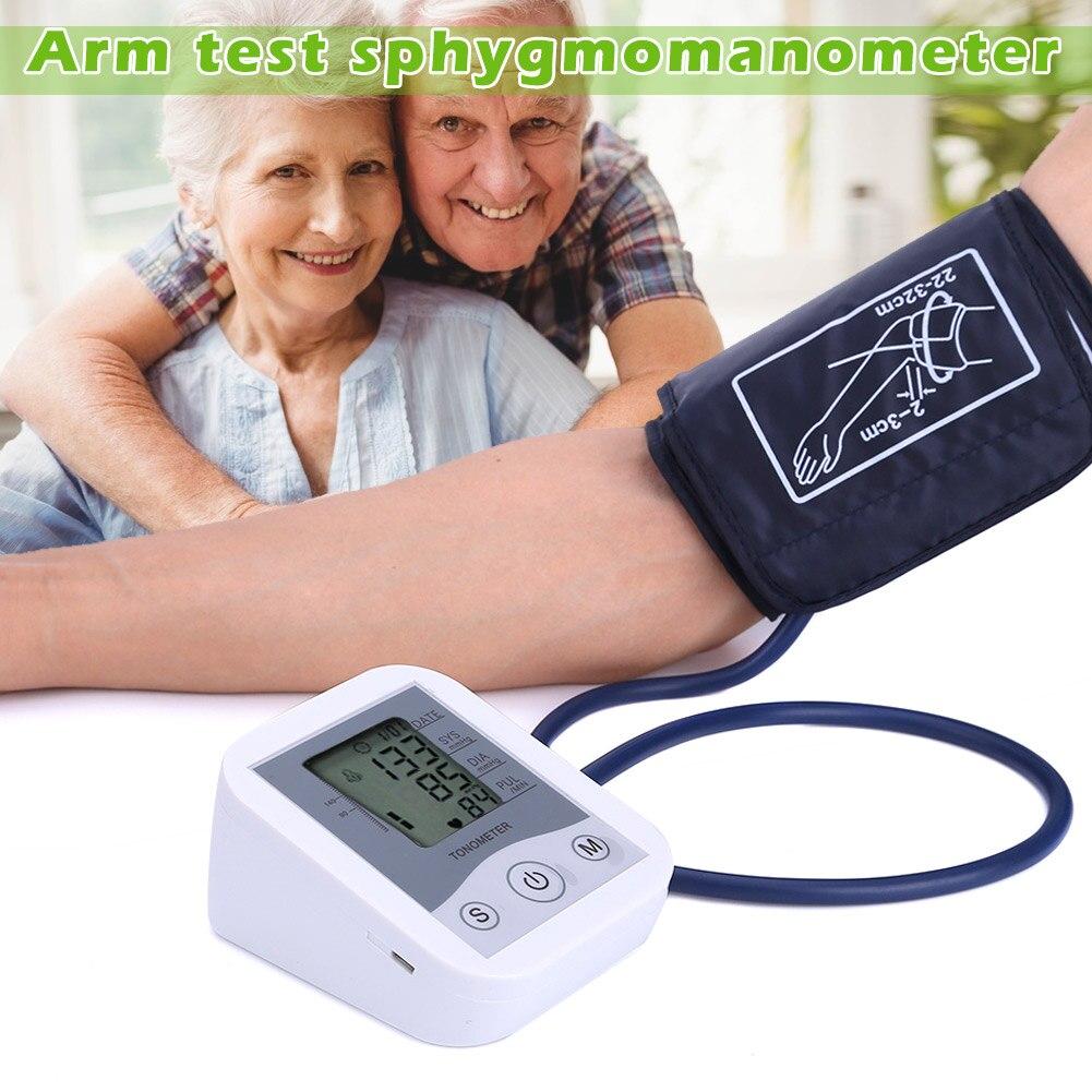 Gesundheitsversorgung Schönheit & Gesundheit Genossenschaft Neueste Home Health Care Blutdruck Monitor Oberen Arm Blutdruck Meter Blutdruckmessgerät Tonometer Für Messen Vfpromotion