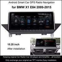 10 25 Touch Android 4 4 Car GPS Navigation For BMW X1 E84 2009 2015 Radio