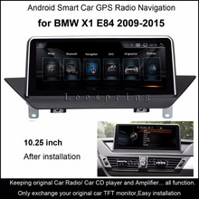 "10,25 ""Touch Android 4.4 Auto GPS-Navigation für BMW X1 E84 2009-2015 Radio Audio Stereo Mp5 Bluetooth WiFi Mirrorlink"